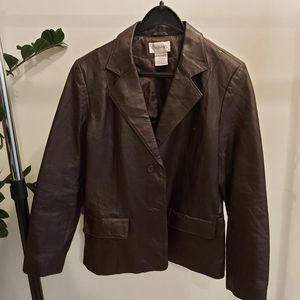 Chadwick's | Genuine Leather Brown Jacket, 12P